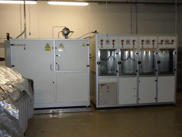 Pulzační Kapalinový Testovací Systém Včetně Teplotních Komor